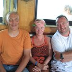 On the boat Hurghada Egypt