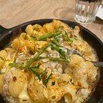 芝士蘆筍焗雞肉通心粉