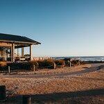 Sandy feet, beach magic