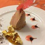 Foie gras/chutney de mangue