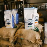 Calling all super coffee drinkers out there 📣 These 5lb bags are always available on dailyrisecoffee.com and shipping is free!   (P.S. The Bean of the Month discount applies to these too!)