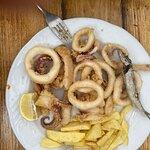Verdaderos calamares saharianos, se te deshacen en la boca de lo tiernos que están