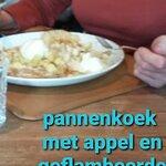 lekkere pannenkoek met calvados en appel