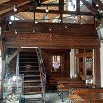 Wnętrze restauracji.