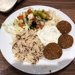 Falafel mit Reis