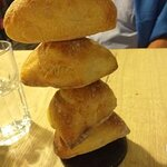 Génial ...la tourelle de petits pains croustillants , de quoi vous ouvrir l'appétit !