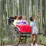 Kyoto Arashiyama Rickshaw Tour with Bamboo Forest