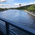 вид с моста на Российскую академию наук