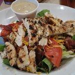 Sugared Pecan Chicken Salad