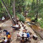Creekside dining