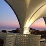 Синий час в ресторане Панорама