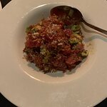 Totally wowed by tuna tartar