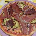 pizza un peu fouilli