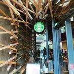ภาพถ่ายของ Starbucks Coffee Dazaifu Temmangu Omotesando
