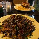 wok de camarão