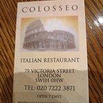 Bilde fra Colosseo Restaurant