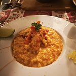 risotto with wild shrimps - absolutly perfect