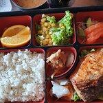 Salmon Yakiniku Bento Set