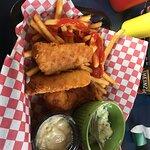 Fish and Chips. Delilish!!!