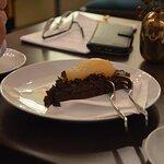 Schoko-Birnen-Kuchen mit Valrhona Schokolade