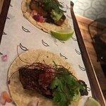 Tacos panceta glaseada