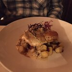Halibut Special with mini potatoes