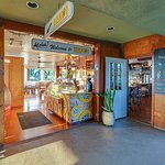 Lilikoi Restaurant is located at 3501 Rice Street in the Harbor Mall in Lihue. It is on the top