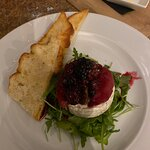 Brie with pear & berries.