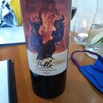 Bottle of really good red wine