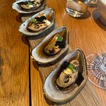 Green shell mussel 'yuzu-honey', pretty nice.
