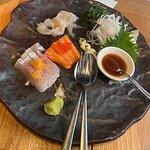 Sashimi Tasting was also pretty good.