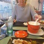 Nydelig middag første kveld i Stavanger