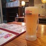 ビールはキンキン