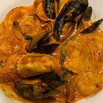 Lobster, Mussels and Clams Ravioli