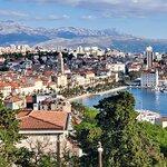 View overlooking Split, from Teraca Vidilica