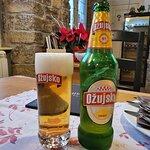 Pivo at Konoba Dorjana