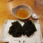 川海苔の天ぷら