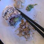 Usmakelig og uappetittlig Spicy Softshell Crab Maki