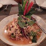 Krua Samui Salad, this is a signature dish.