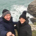 Beautiful Cornwall coast path