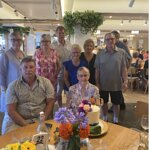 Family and Friends celebrating my mothers 90th birthday in November 2020
