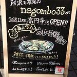 20.01【negombo33】店頭の看板