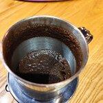 Это количество кофе, который заваривали