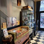 Entrance, walk down the cigar memory lane and items you can buy directly :)