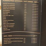 soft drinks & beer