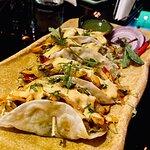 Ghee Roast Chicken Tacos