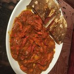Chicken Tikka Dhansak with Keema Naan
