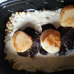 Saint Jacques sur risotto et truffes