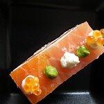 saumon gravlax et brousse