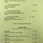 Taverna dell'Oca - MENU - (3di3) PIATTI UNICI ed INSALATONE